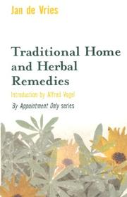 Cover of: Traditional Home & Herbal Remedy