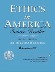 Cover of: Ethics in America