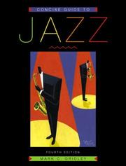 Cover of: Concise Guide to Jazz