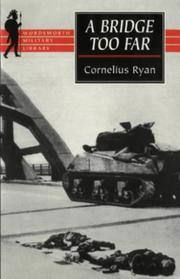 Cover of: A Bridge Too Far [Paperback] | Cornelius Ryan