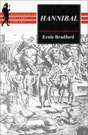Cover of: Hannibal | Ernle Bradford