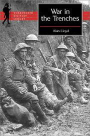 Cover of: The War in the Trenches