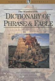 Cover of: The Wordsworth Dictionary of Phrase and Fable