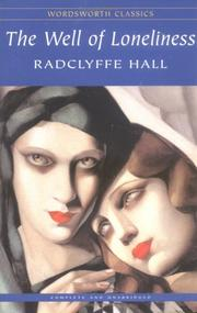 Cover of: The Well of Loneliness | Radclyffe Hall