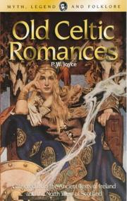 Cover of: Old Celtic Romances