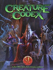 Cover of: Creature Codex