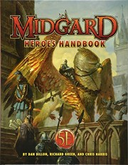 Cover of: Midgard Heroes Handbook for 5th Edition