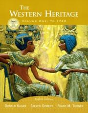 Cover of: The Western Heritage, Vol. 1