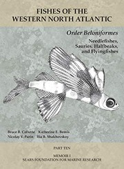 Cover of: Order Beloniformes : Needlefishes, Sauries, Halfbeaks, and Flyingfishes