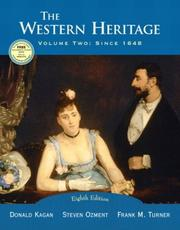 Cover of: The Western Heritage, Vol. 2