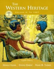 Cover of: The Western Heritage, Vol. A