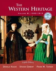 Cover of: The Western Heritage, Vol. B | Donald M. Kagan