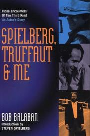 Cover of: Spielberg, Truffaut & Me