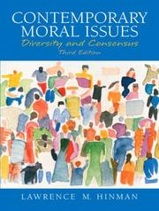 Cover of: Contemporary Moral Issues