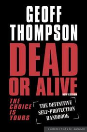 Cover of: Dead or Alive (Summersdale Martial Arts)