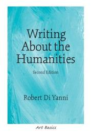Cover of: Writing About the Humanities