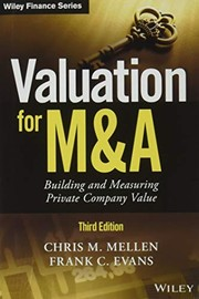 Cover of: Valuation for M&A | Chris M. Mellen