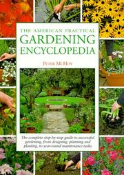 Cover of: The American Practical Gardening Encyclopedia | Peter McHoy