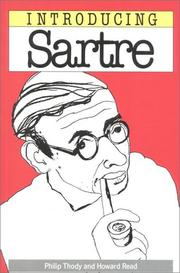 Cover of: Introducing Sartre