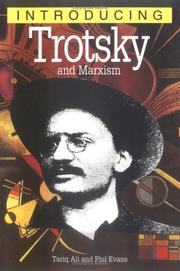 Cover of: Introducing Trotsky and Marxism (Introducing...(Totem))