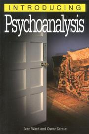 Cover of: Introducing Psychoanalysis (Introducing...(Totem))
