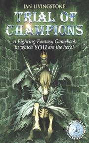 Cover of: Trial of Champions