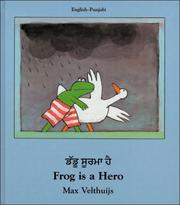 Cover of: Frog Is a Hero (English-Punjabi) (Frog series)