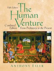 The human venture by Anthony Esler