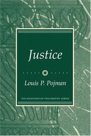 Cover of: Justice (Foundations of Philosophy)