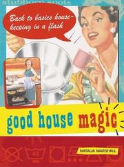 Cover of: Good House Magic | Natalia Marshall