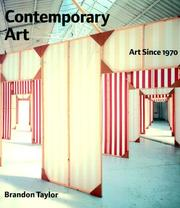 Cover of: Contemporary Art