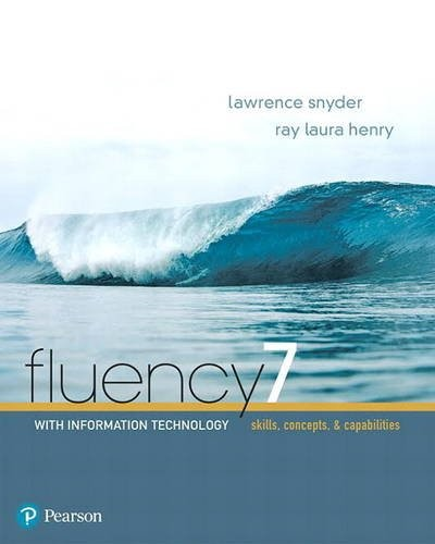 Fluency with Information Technology by Lawrence Snyder