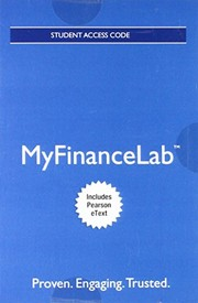 Cover of: MyLab Finance with Pearson eText -- Access Card -- for Financial Management