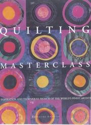 Cover of: Quilting Masterclass