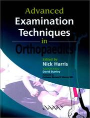 Cover of: Advanced Examination Techniques in Orthopaedics |