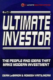 Cover of: The Ultimate Investor | Dean LeBaron
