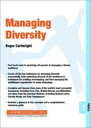 Cover of: Managing Diversity