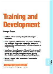 Cover of: Training & Development | George Green