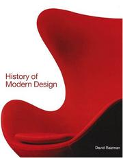 Cover of: History of Modern Design (Trade Version) | David Raizman