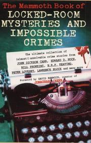 Cover of: Mammoth Book of Locked Room Mysteries and Impossible Crimes