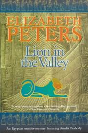 Cover of: Lion in the Valley (Amelia Peabody Murder Mystery)