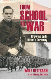Cover of: From School to War