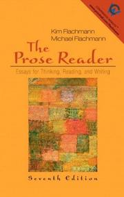 Cover of: The prose reader