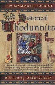 Cover of: The Mammoth Book of Historical Whodunnits