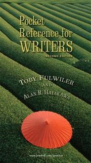 Cover of: Pocket reference for writers | Toby Fulwiler