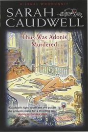 Thus Was Adonis Murdered (A Legal Whodunnit)