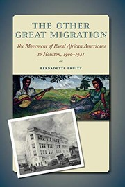 Cover of: The Other Great Migration