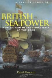 Cover of: A Brief History of British Sea Power (Brief History)