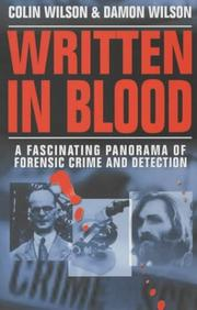 Cover of: Written in Blood