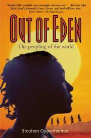 Cover of: Out of Eden